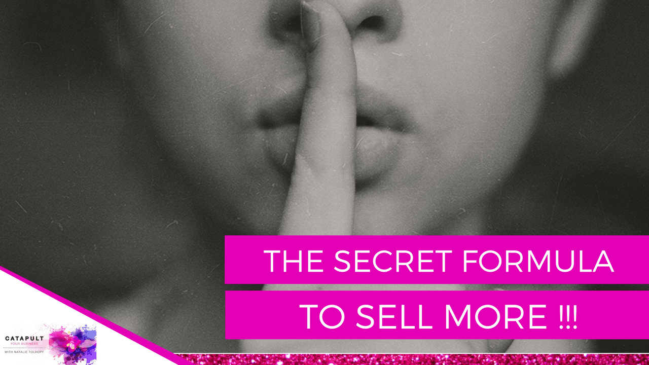 The Secret To Selling More In Your Business