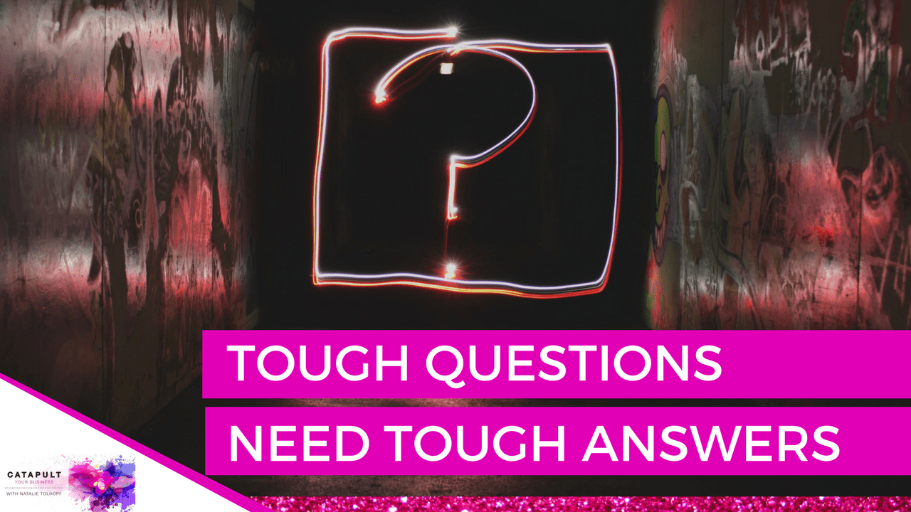 Tough questions in business