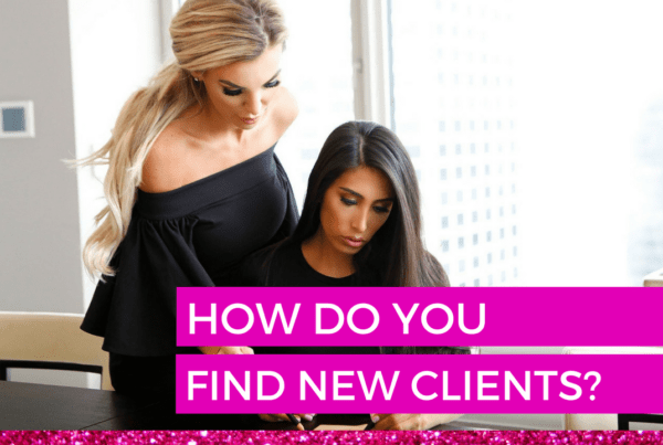 How do you find new clients
