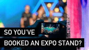 Booking an expo stand