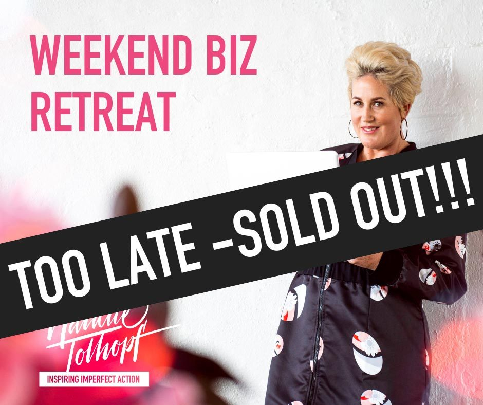 Business Retreat Sold Out