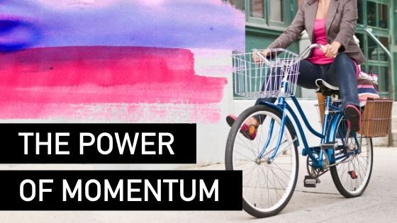 The power of momentum in your biz - Natalie Tolhopf Business Coach