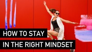 How to stay in the right mindset - Natalie Tolhopf