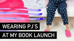 PJs at my book launch - Natalie Tolhopf