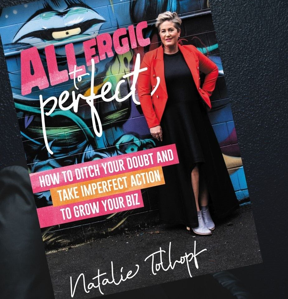 Grab the Book - Allergic To Perfect