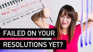 Have You Failed On Your Resolutions Yet - Natalie Tolhopf