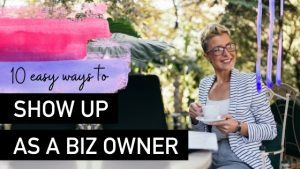 How to show up as a business owner - Natalie Tolhopf